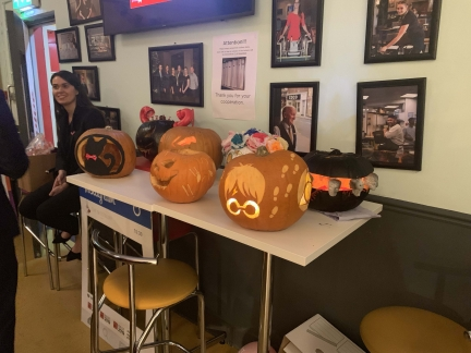 Westbury Pumpkin Carving Competition